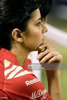Kathrina Kaif during the 2010 DLF Indian Premier League T20 group stage match…
