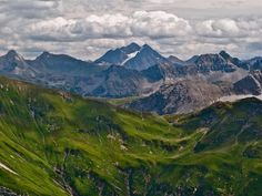 View over the Lechtal Alps to Hoher Riffler (3168 m) by Eric Chumachenco on 500px