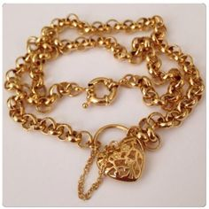 HP  Vintage Heart Perfume Gold Pendant Necklace BUNDLE AND SAVE 20% OR MAKE AN OFFER!  Vintage Filigree Heart Perfume Pendant Gold Plated Necklace! Heart is a chatelaine style and a scent paper can slide inside where it unlocks/ opens. Fancy rollover chain. Vintage Jewelry Necklaces