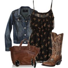 """""""Easy Floral Friday"""" by jewhite76 on Polyvore"""