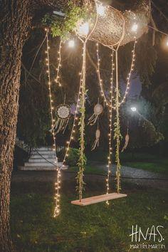 Lawn Tennis de Adrogué, Adrogué Tennis Club, casamiento, boda, wedding, ambientación, decor, romántica, vintage, flores, flowers, luces, lucecitas, velas, hamaca, atrapasueños