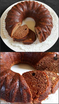 Eggless Dates Cake is a super delicious, soft and moist cake that is perfect tea time snack and is worth try. The nutty flavor of dates with almonds, raisins and cashews is just amazing. Eggless Desserts, Eggless Recipes, Eggless Baking, Baking Recipes, Delicious Desserts, Eggless Dates Cake Recipe, Yummy Treats, Yummy Food, Cupcake Recipes