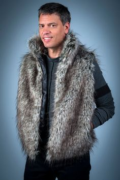 219 Best fur vest images  a04cd0513546