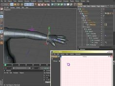 Cinema 4D Rigging 04 - Wrist Control Using Constraint and XPresso - YouTube