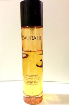 Caudalie Divine Oil, a moisturizer that's an oil. Afraid it might be greasy, well it's not! Smells fabulous too and makes your skin feel incredibly soft.