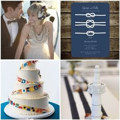 The Crafty DIY Bride: {Trend + DIY} Nautical Wedding Details
