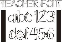 Fonts play a big role in creating classroom worksheets, activities and many teachers love making their own! Here are 26 free fonts that were created by teachers and will help make your classroom activities fun and add just the right touch. Fancy Fonts, Cool Fonts, Classroom Fun, Classroom Activities, Classroom Organisation, Organization, Future Classroom, Bubble Letter Fonts, Bubble Writing Font