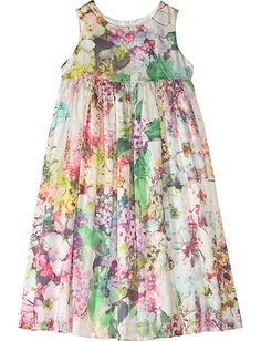 This totally looks like something my daughter should wear. Hanna Andersson Silk Flowers Dress