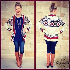 LOVE THIS LOOK!!! Maybe a different pattern on the sweater... but bun included! <3