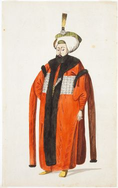 Turkish Personage and Costume: Sultan Mahmud II (1808-1839) | LACMA Collections