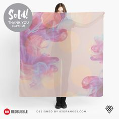 'Understated Gold' Scarf Sold! #redbubble #fasion #apparel #designerwear