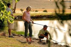 Trout fishing at Tuki Retreat - Daylesford Daylesford, Trout Fishing, Travel With Kids, Soul Food, Journey, Explore, Travelling, Nature, Families