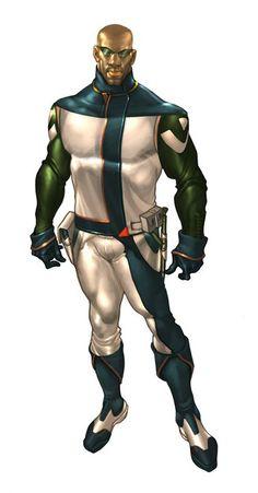 Iceburg Aegis Bio Armour suit mode 1 design by Mshindo Kuumba