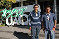 Estudiantes de la UAQ, oro y bronce en Olimpiada Nacional de Biología