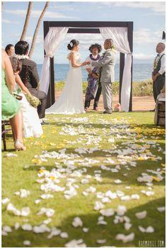 A Sugar Beach Venue Wedding in Maui Hawaii!
