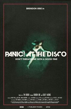 Don't Threaten Me With a Good Time music video by Panic! at the Disco is coming May 10th!!!!! I'M SO EXCITED