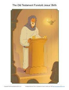 isaiah told about jesus coloring page - 1000 images about prophets told about jesus 39 birth