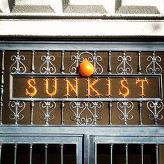 Sunkist in Old Town Orange,California
