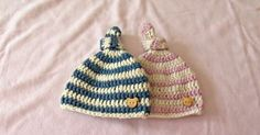 This Baby Knot Beanie Is Absolutely Adorable And A Perfect Project For Beginning Crocheters!