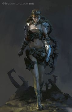 Warrior by Fenghua Zhong | Illustration | 2D | CGSociety