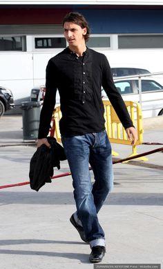Zlatan Ibrahimovic looking polished