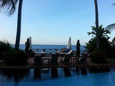 Abenddämmerung auf der Sonnenterrasse. http://villaboreh.com/about-us/