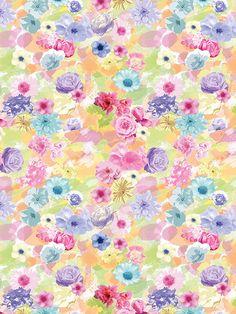 Watercolor Flowers / 2157