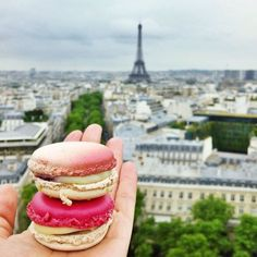 shinebythree: Ombré and two-tone macaron stacks atop l'Arc de Triomphe Budapest, Laduree Paris, Tour Eiffel, Beste Hotels, I Love Paris, Beautiful Paris, Paris Ville, I Want To Travel, Adventure Is Out There