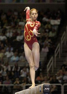 2007 USAG Visa National Championships gymnastics gymnast balance beam