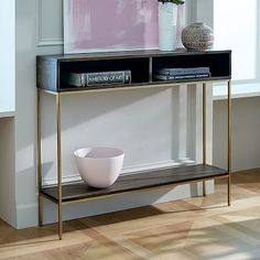"""Industrial Storage Skinny Console product dimensions: 42""""w x 9.5""""d x 34""""h"""