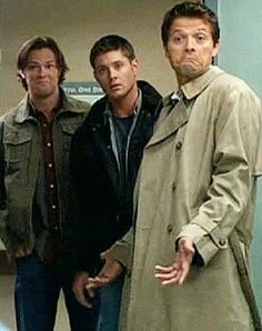 "Cas is like ""not even mad bro"""
