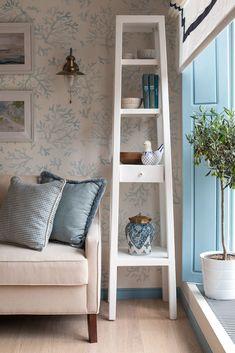 Фото из статьи: Средиземноморский стиль в интерьере: гостиная в загородном доме