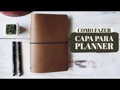 Como fazer capa para planner ou bullet journal com elásticos - estilo midori - YouTube