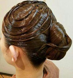 Updo Styles, Long Hair Styles, Helmet Hair, Big Bun, Roller Set, Hairspray, Perm, Hair Oil, Hair Designs