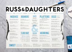 Here's the Menu for Russ & Daughters Cafe, Now Open - Openings - Eater NY