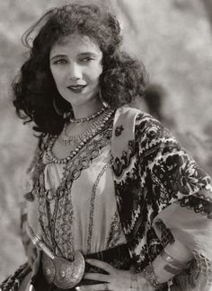 Jetta Goudal in 1923 (1891-1985) was a Dutch-born American actress, successful in Hollywood films of the 1920's.