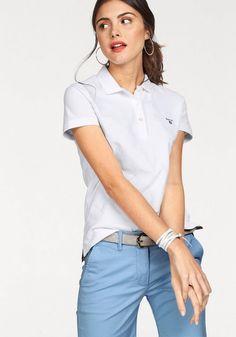 Gant Poloshirt, mit dezenter Logo-Stickerei auf der Brust ab 49,99€. Sportliches T-Shirt von GANT, Reine Baumwolle sorgt für ein super Gefühl beim Tragen bei OTTO