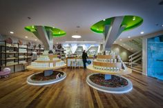 Bara Herbs store was designed by Studio Samuelov, Yokneam in Israel. The concept of the store was to create a space where the science of medicine & nature are together. The place of about 2000 square...