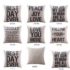 Power Source Solar Cells Energetic A To Z Food Fruit English Letter Printed Pillow Case Cotton Linen Decorative For Home Hotel Office 45*45 Cm Throw Pillow Cover