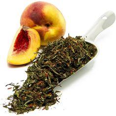 Peach Indulgence | Organic Loose Leaf White Tea | BigTeaHouse | Loose Leaf Tea & Teaware