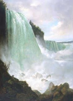The Niagara River at the Cataract