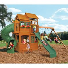 Wood Clubhouse Swing Set: Get Your Kids Moving With Kmart |  THE.HOME*Mi.Casa | Pinterest | Wood Swing Sets, Wood Swing And Backyard