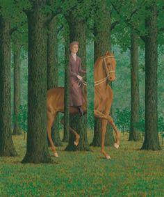 René Magritte(1898ー1967)「The Blank Signature(白紙委任状)」(1965)
