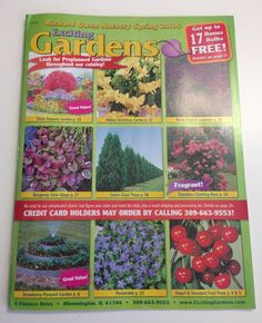 68 Free Seed and Plant Catalogs: Exciting Gardens' Free Seed Catalog