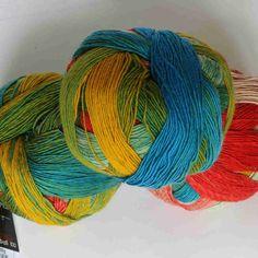 Zauberball 100 Papagei von Schoppel-Wolle - Heikes Handgewebtes