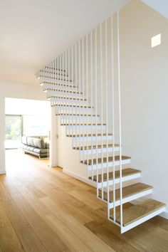 Lightweight 'see-through' stair which shows how to provide a staircase which does not impinge too much on the space Extensions, Stairs, London, Space, Interior, Ideas, Design, Home Decor, Ladders