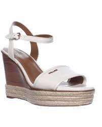 Coach/Jimlar Elda Platform wedge Sandal White size 6.5