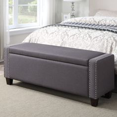Best representation descriptions: Upholstered Storage Benches for Bedroom Related searches: Upholstered Bedroom Benches,Bedroom Bench Seat,. Grey Storage Bench, Upholstered Storage Bench, Upholstered Beds, Bed Storage, Bedroom Storage, Storage Area, Storage Benches, Entryway Storage, Storage Trunk