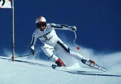 Franz Klammer-- Olympic Gold Medalist Downhill Skiing