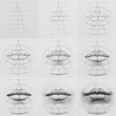 how to draw characters drawings aesthetic drawing tips asthetic drawings how to draw cute drawing reference drawing bodies aesthetic drawings drawing sky How to draw lips Pencil Art Drawings, Drawing Faces, Art Drawings Sketches, Hand Drawings, Art Illustrations, Arte Com Grey's Anatomy, Anatomy Art, Drawing Lessons, Drawing Tips